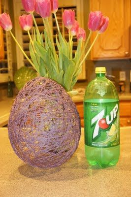 Easter Egg-string, liquid starch and a balloon. I remember doing this in elementary school.: Crafts Ideas, Shopping Girls, Easter Crafts, Easy Crafts, Eggs Baskets, Easter Projects, Easter Eggs, Easter Baskets, Easter Ideas