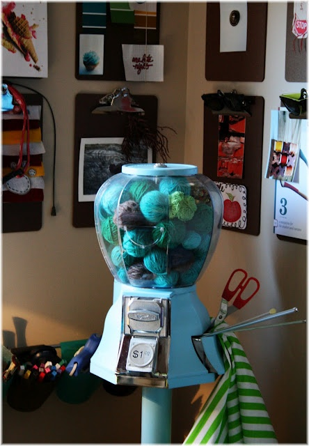 I Need A Gumball Machine Full Of Yarn.