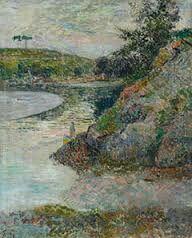 """Bord de l'Aven"", Bretagne, Paul Gauguin, 1886-1888."