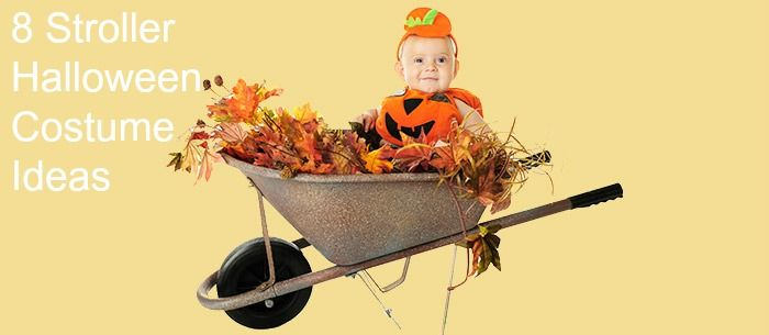 8 Stroller Halloween Costumes - don't let your littlest ones miss out on costume fun!
