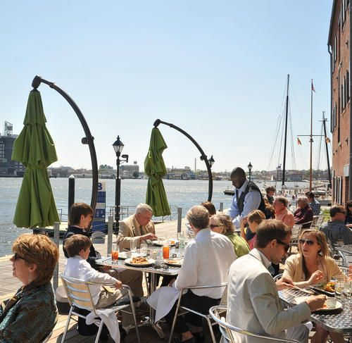 our favorite outdoor dining spots in and around baltimore - Waterfront Kitchen
