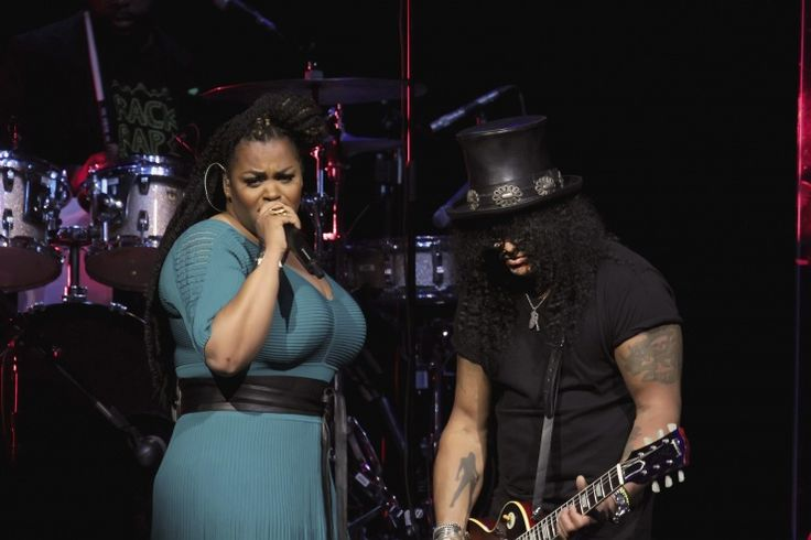 Jill Scott And Slash | GRAMMY.comMusic Icons, L'Wren Scott, Jill Scott, Beautiful Legends, Female Vocalist, Vision Boards, Performing Well