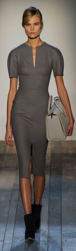 Don't like the shoes but the dress and bag are amazing