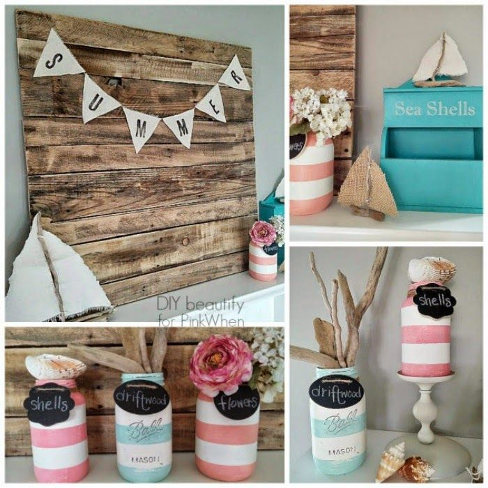 DIY beautify Summer Mantle