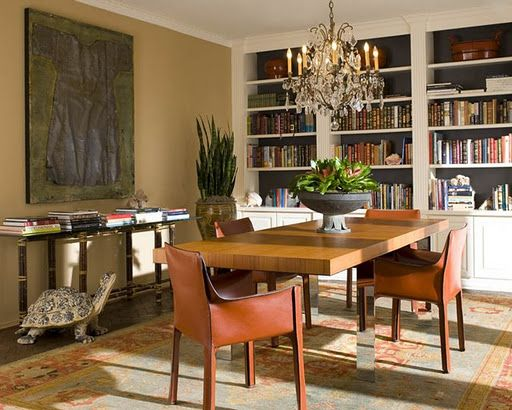 Dining room come library