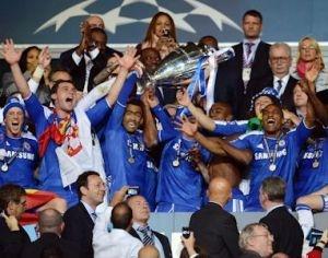 Chelsea F.C - football / soccer European champions 2012