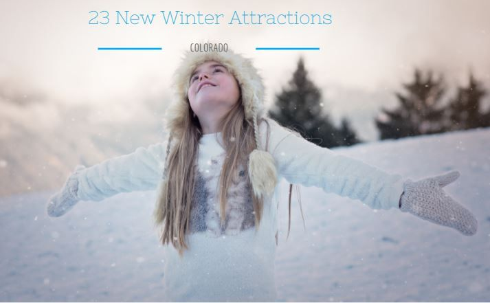 23 New Family-friendly Winter Events & Attractions in Colorado.  Colorado is the place for families this winter! The fun includes several resorts opening alpine coasters, Winter Park Express Train and an Olympic send-off. | Mile High Mamas