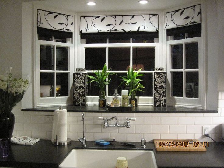 Choose The Right Window Treatments Kitchen Bay Window Treatment Ideas