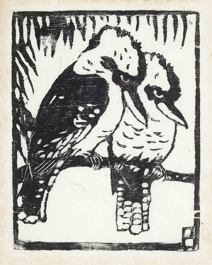 Kookaburras - MARGARET PRESTON. Australia's Leading Auctioneers and Valuers of Fine Art