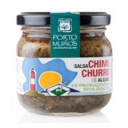 salsa chimichurri de algas