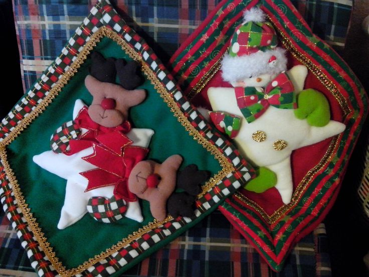 Cojines para sala decora para navidad d pinterest - Cojines de navidad ...