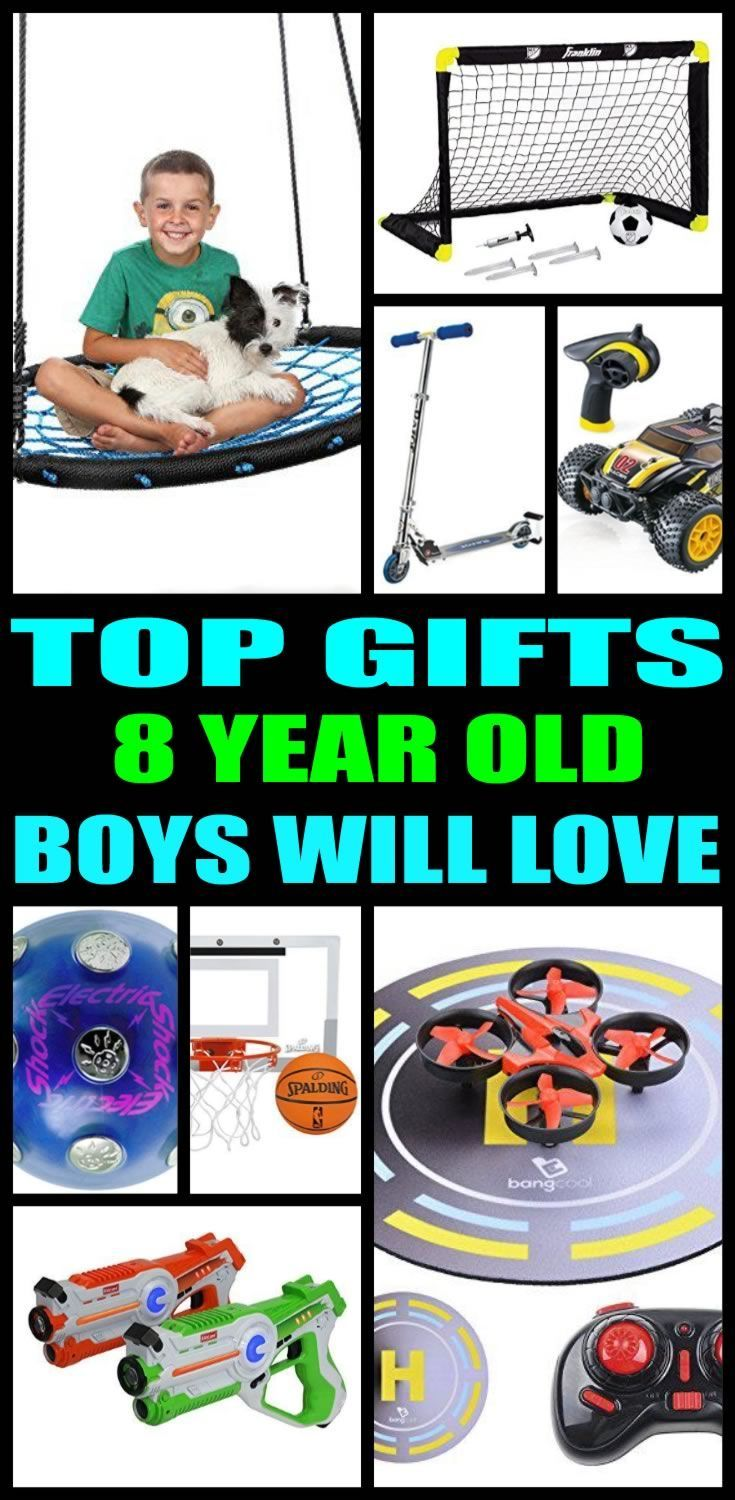 Find the best gifts for 8 year old boys! Boys would love a gift from ...