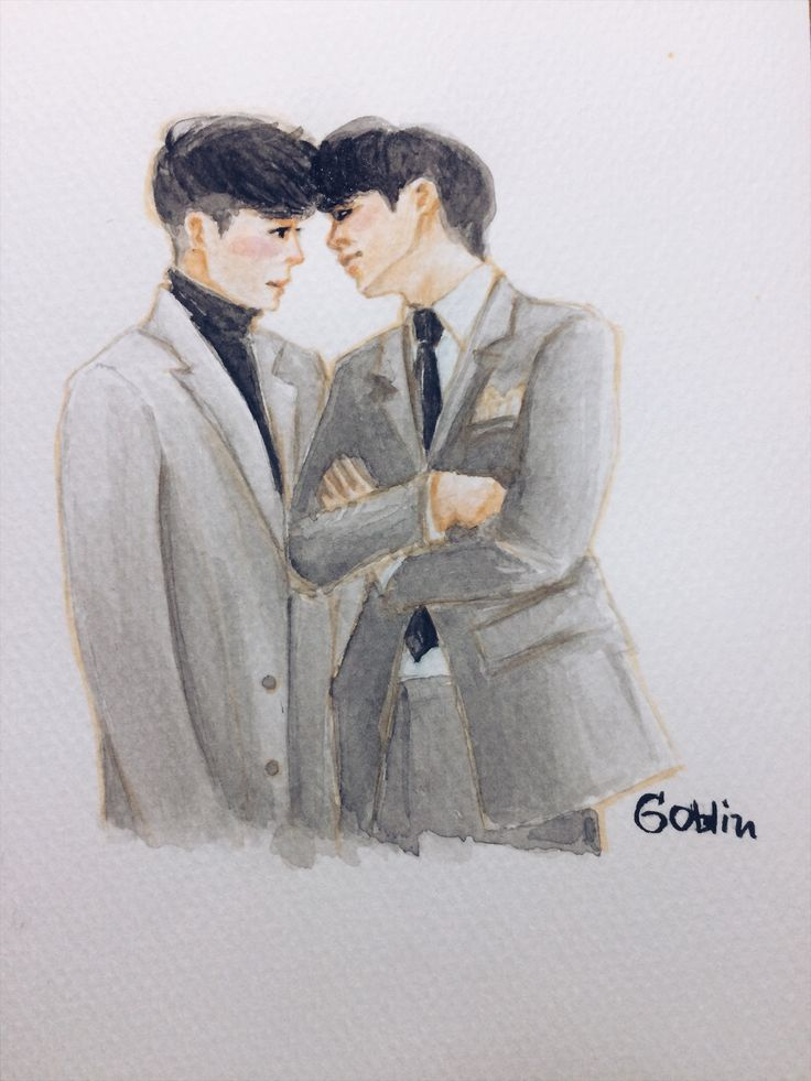Lee Dong Wook  x Gong Yoo#GoblinFanart#kdrama