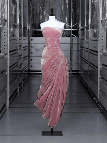 Madame Grès, Evening Dress, Fall/Winter 1956, Palais Galliera, Paris