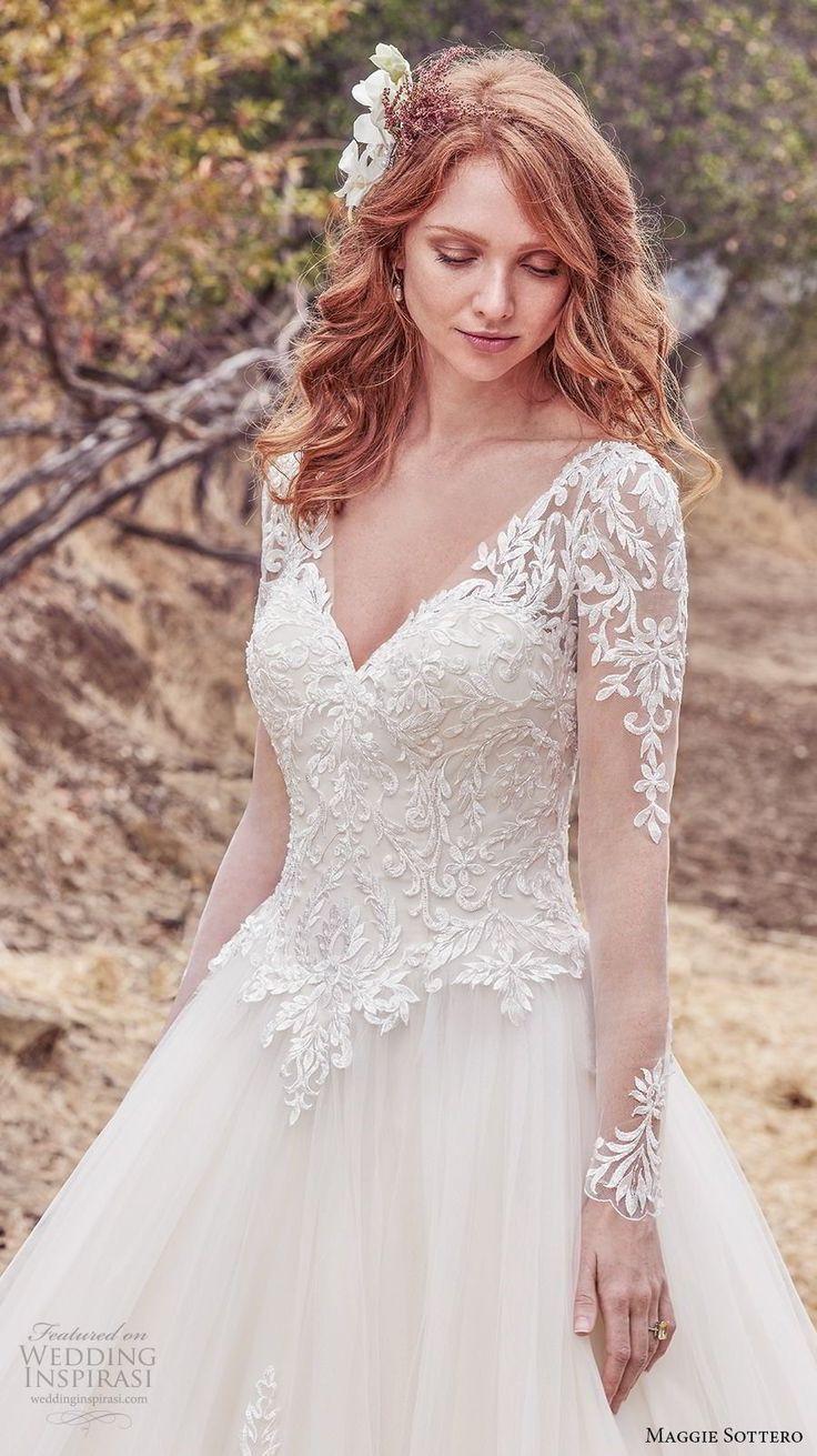 Sleeved wedding dress like royalty! Berkely by Maggie Sottero :)