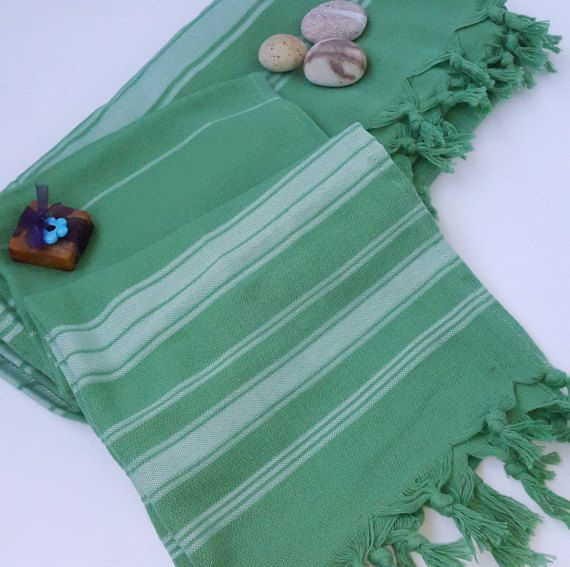 Check out this item in my Etsy shop https://www.etsy.com/listing/473113147/turkish-beach-towel-2-pcs-green
