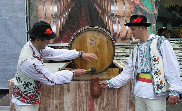 """The Moldova wine festival, officially named """"National Wine Day"""""""