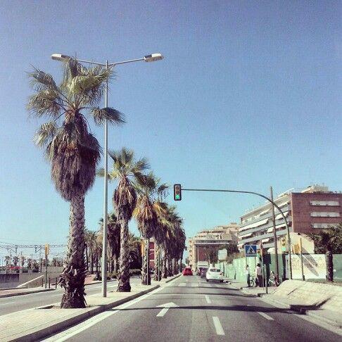 Tenim una ciutat que a vegades té aires californians... :)