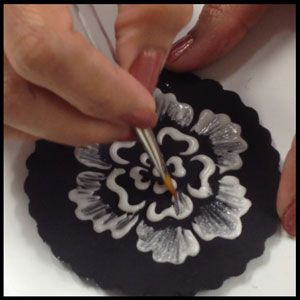 Brush Embroidery Techniques~ video