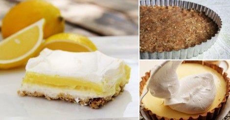 Una opción rica y saludable para disfrutar del sabor del Lemon Pie sin utilizar harinas blancas refinadas.