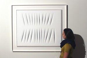 Da Sotheby's a Londra in asta il 10 febbraio un pezzo rarissimo di Lucio Fontana