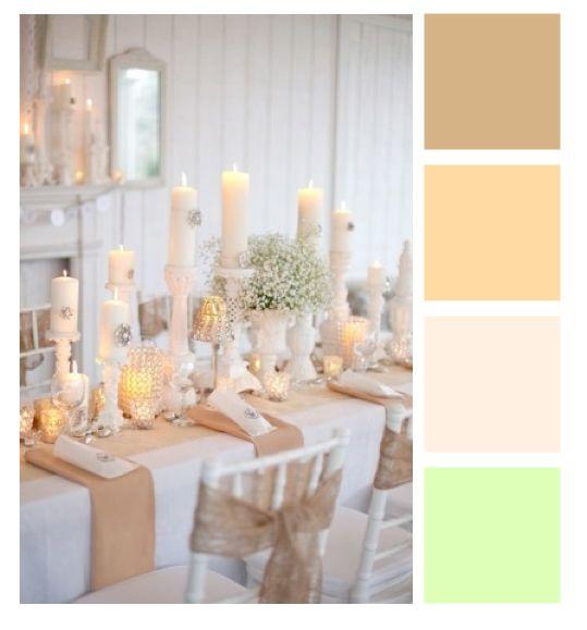 Paleta de cores inspirações