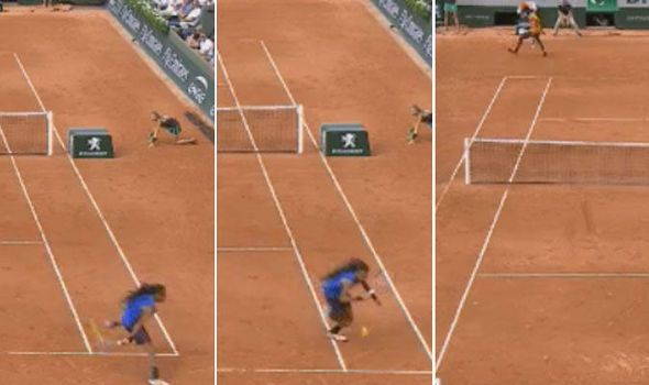 Dustin Brown makes miracle shot in best rally EVER plays Andy Murray at Wimbledon today