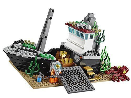 Lego Game Creator Exploration Vessel Deep Sea Large Wheelhouse Ships Lifeboat #LEGO