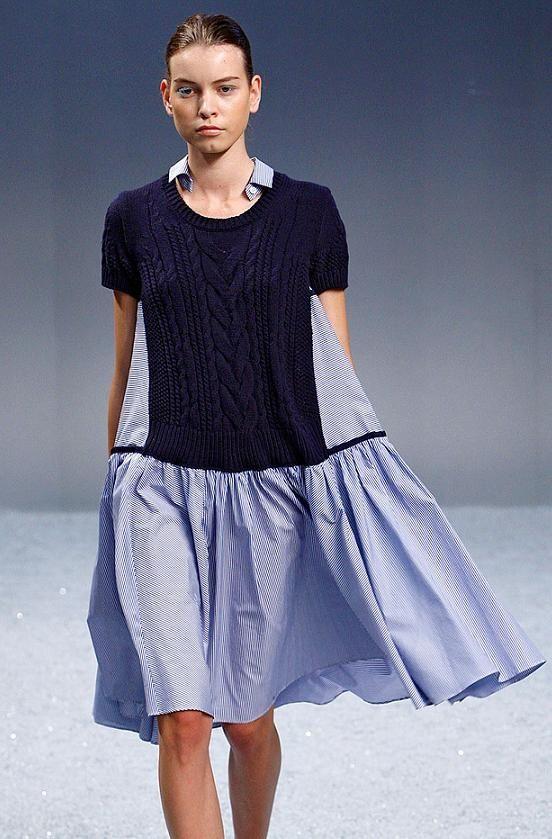 Как переделать узкие платья