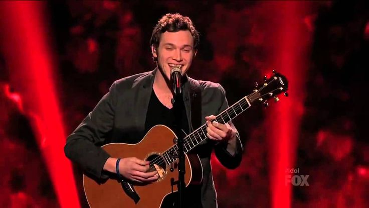 Give A Little More - Phillip Phillips (American Idol Performance) He was soooo attractive singing this, oh my goodness!!!