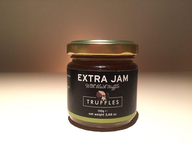 Truffel jam, de topper bij een kaasplankje bijvoorbeeld