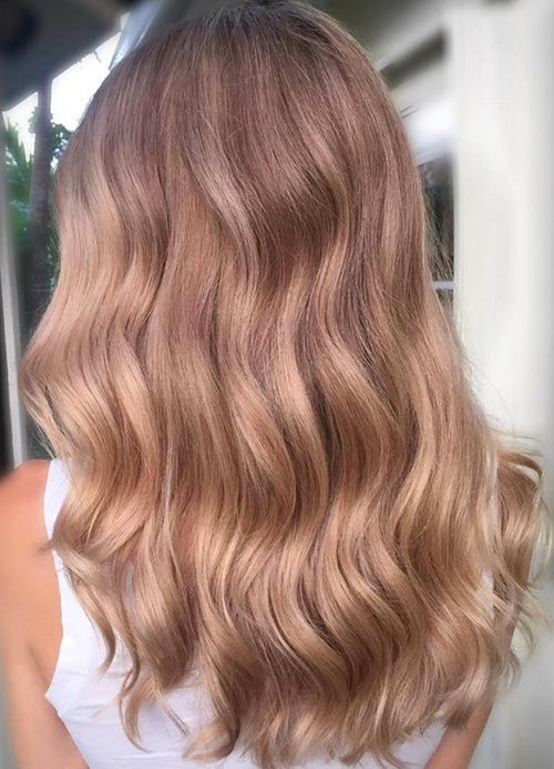 Groovy 1000 Ideas About Gold Hair Colors On Pinterest Rose Gold Hairstyle Inspiration Daily Dogsangcom