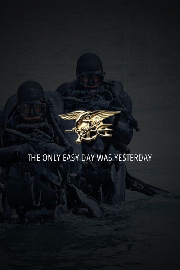 the only easy day was yesterday navy seals