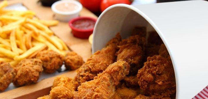 balde de frango frito