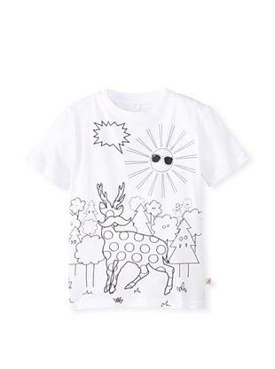 46% OFF Stella McCartney Kid's T-Shirt & Markers (White)