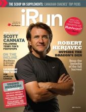 Cover photo of iRun Magazine | 2011 Issue 06  September 2011