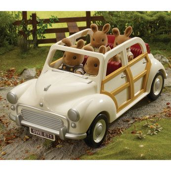 Sylvanian Families. I *loved* these little animals when I was a kid...