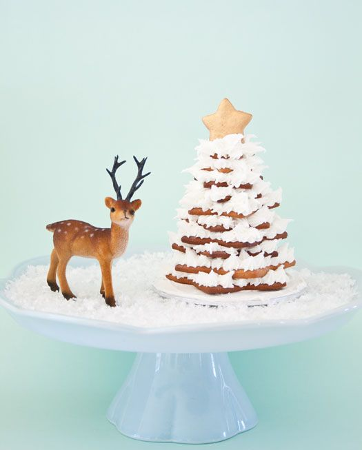 The only good thing about winter not being over is that we can still make these adorable gingerbread cookie trees!