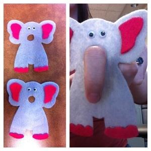Two Little Elephants