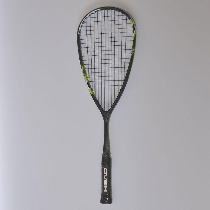 Head Microgel 110 Stealth Squash Racket