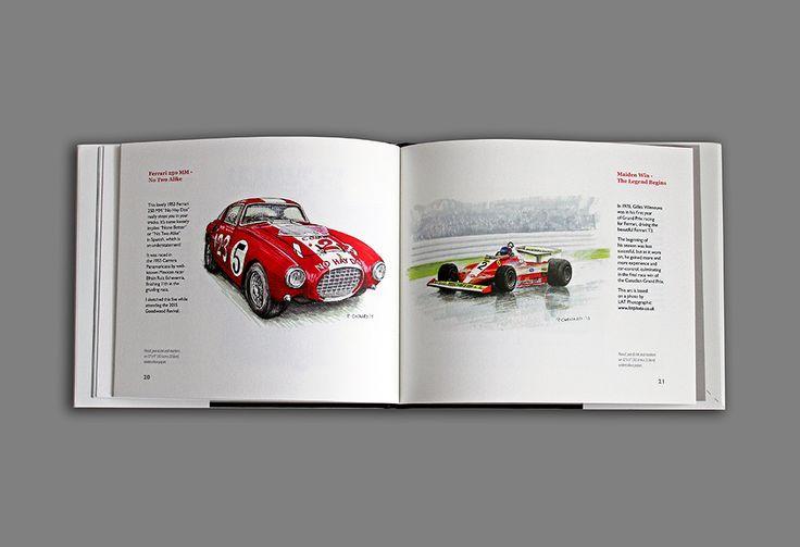 "My new ""Ferrari in Art"" book is now available through Blurb books; details can be found here: http://www.blurb.com/b/6772551-ferrari-in-art"