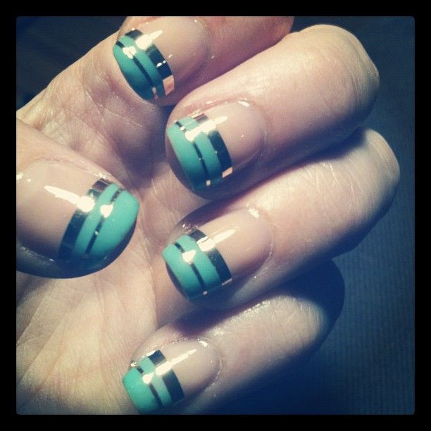 With Striping Tape Nail Art Ideas: 51 Best Images About Striping Tape Nails On Pinterest