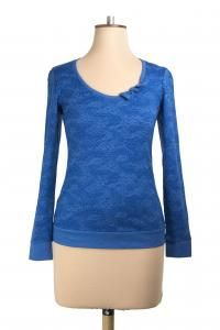 Frenchie Top, Available in Azure, Ruby, Jungle and Charcoal #wintertops #winterfashion #bettiemonroe #nzdesigners