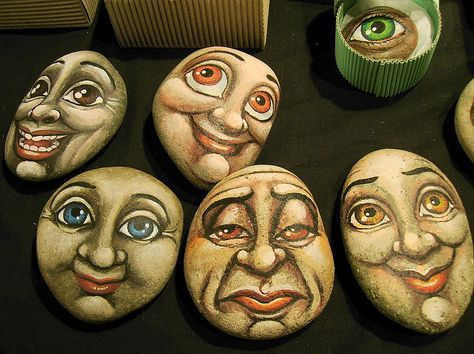 faces for rock painting?