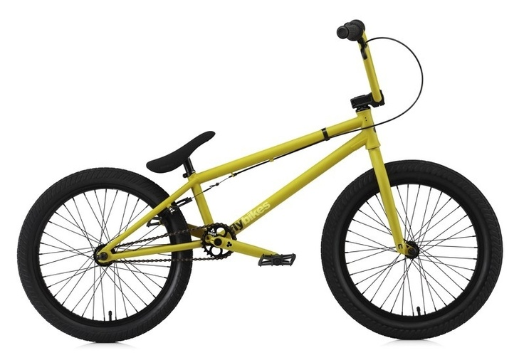 "Flybikes neutron 20.6"" flat mustard, the profesional and clean look complete bmx bike with a very nice price!"