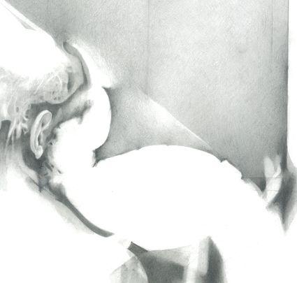 Alessandro De Michele, Anonimo, disegno a matita - Anonimo