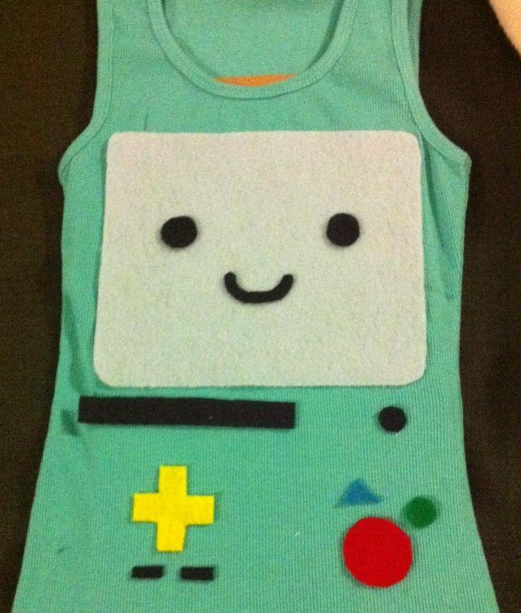 Super simple BMO costume - DIY - Imgur