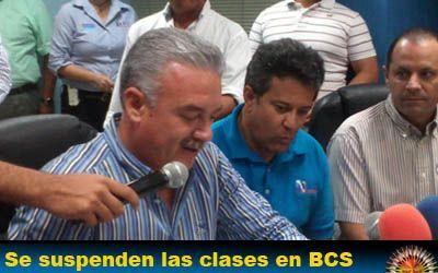 Se suspenden las clases en BCS por los Sismos