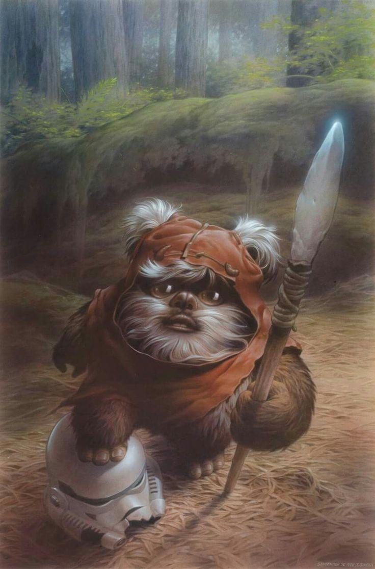 131 best images about star wars on pinterest star wars - Ewok wallpaper ...