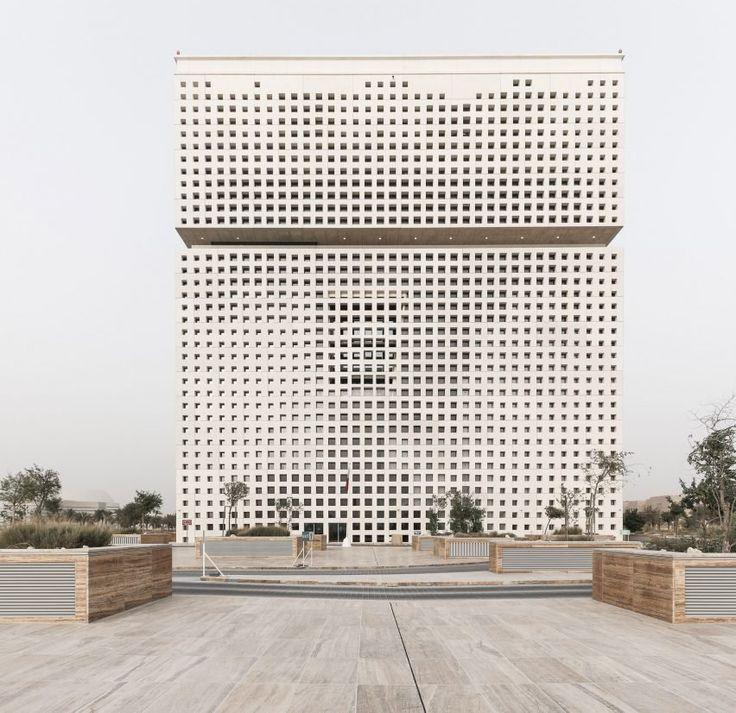 Sede principal de la Fundación Catar, Doha, Catar - OMA - foto: Yuequi Li